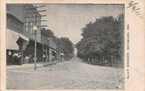 LPS54 Bucklin Missouri Main Street View Postcard
