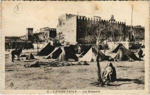 CPA AK Casbah TADLA - Les Remparts MAROC (669561)