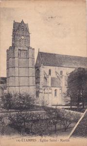 Étampes ,metropolitan area of Paris, France , 00-10s ; Eglise Saint-Martin