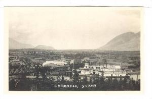 RP; Aerial View of Carcross, Yukon, Canada, 10-20s