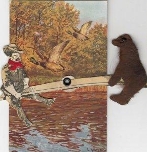 WASHINGTON D.C., 00-10s; Political ; Teddy Roosevelt & bear on see-saw