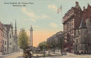 Hotel Stafford , Mt Vernon Place , BALTIMORE , Maryland , PU-1913