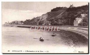 Houlgate - The Mouth of the Dives - Old Postcard