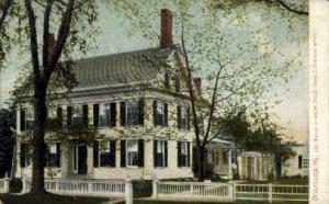 Harriet Beecher Stowe House Brunswick ME Unused