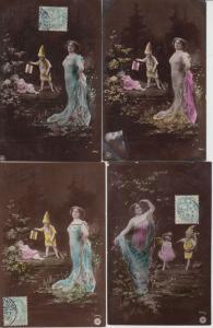 GNOMES FAIRY TALES CONTES DE FÉES 22 CPA (mostly pre-1940)