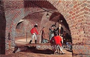 The Provost Dungeon Charleston, SC Patriotic Postcard Post Card Charleston, S...