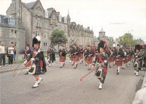 uk34462 highland pipers scotland uk military music dance