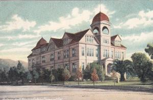 CLAREMONT, California; PU-1907 ; Holmes Hall Pomona College