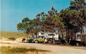 Camping at St. Joseph State Park, FL, Florida near Port St. Joe, Chrome