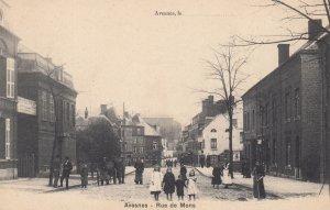 Avesnes le Comte , France , 1900-10s ; Rue de Mons