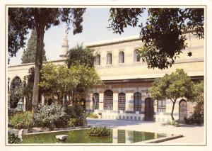 Syria Postcard, Damascus - Azem Palace, Middle East U23