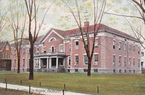Nurse's Building City Hospital, Rochester, New York, PU-1911