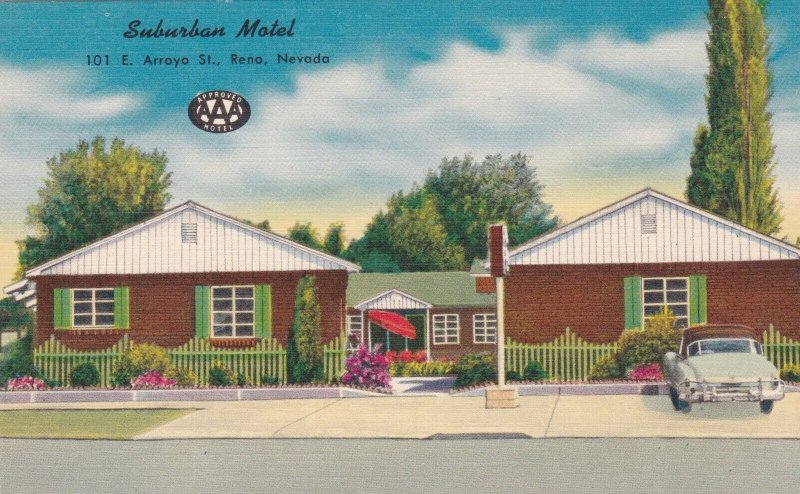 Nevada Reno Suburban Motel sk2056