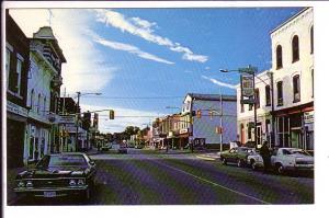 Berford Street, Downtown, Wiarton, Ontario,