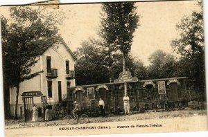 CPA COEUILLY CHAMPIGNY Avenue de Plessis-Trévise (869386)