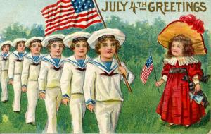 Greetings - July 4th