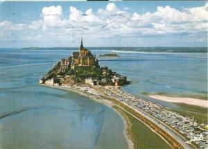 France, Le Mont Saint-Michel, Vue generale du Mont