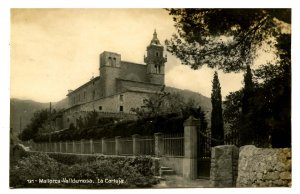 Spain - Mallorca, Valldemosa. Carthusian Monastery  *RPPC
