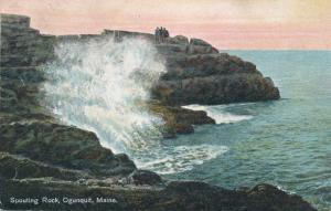 Spouting Rock on Atlantic Ocean - Ogunquit, York County, Maine - pm 1909 - DB