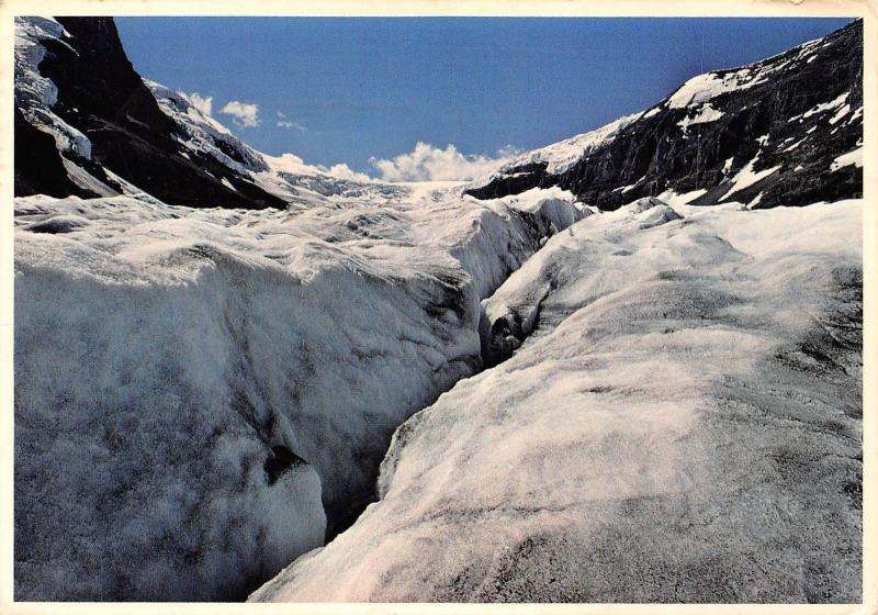 Canada Crevasse on Athabasca Glacier, Jasper National Park