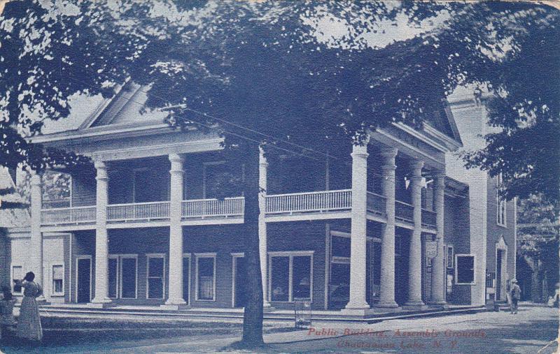 CHAUTAUQUA, New York, 1908; Public Building, Assembly Grounds