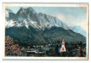 Zugspitze, German Mountains, Echte Wagner Trade Card *VT31V