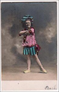 RPPC, Young Girl