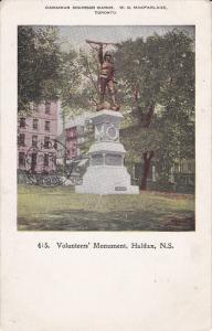 Volunteer's Monument , HALIFAX , Nova Scotia, Canada , 1904