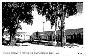 Colorado Fort Morgan Deluxe Motel