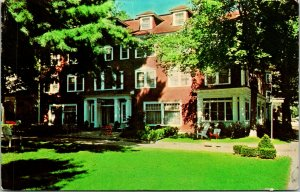 Chautauqua NY St Elmo Hotel Postcard used (26704)