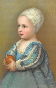 BR95064 van dick son carlo d inghilterra 29807 edition stengel painting postcard