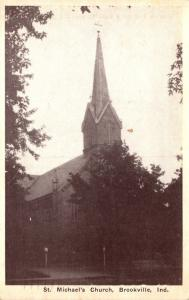 Indiana Brookville St Michael's Church 1951
