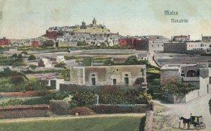 MALTA , 1900-10s ; Notabile