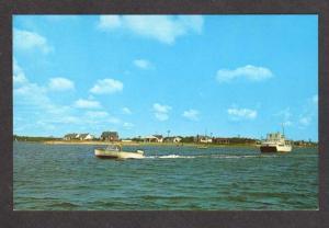 MA Childs River Seacoast Shore Falmouth Mass Massachusetts Postcard Cape Cod PC