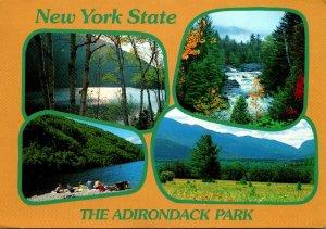 New York The Adironack Park Multi View 1992