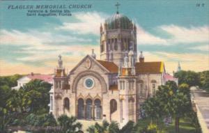 Florida St Augustine Flagler Meorial Church