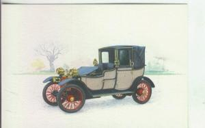 Postal 000006: Coche Lanchester 20 HP - 1908