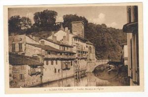 Saint-Jean-Pied-de-Port , France, 00-10s   Vieilles Maisons et l'Eglise
