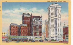 Texas Dallas Hotel Adolphus 1939
