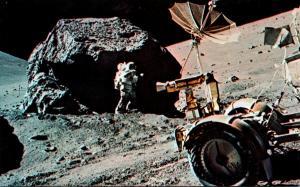 Florida John F Kennedy Space Center Austronaut Schmitt Working On Moon's...