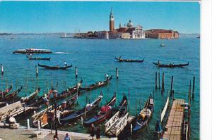 Italy Venice The Pier and S Giorgio Island