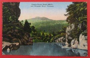 Camels Hump And Winooski River, VT Postcard (#3253)