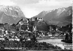 Salzburg geger Pass Lueg River Castle General view Mountain