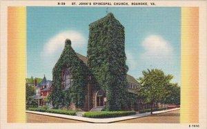 Saint John's Episcopal Church Roanoke Virginia 1939