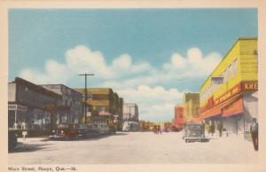 Main Street , ROUYN, Quebec , Canada  , 1930s