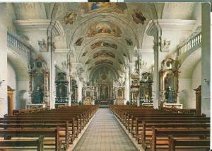 Suisse, Engelberg, Klosterkiche des Benediktinerstiftes