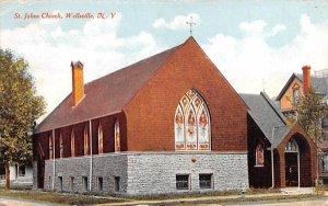 St Johns Church Wellsville, New York