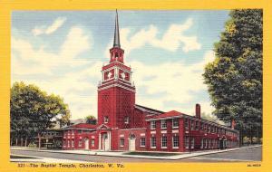 Charleston WV Stout Steeple~Baptist Temple~Homes Now Gone~211 Morris 1950