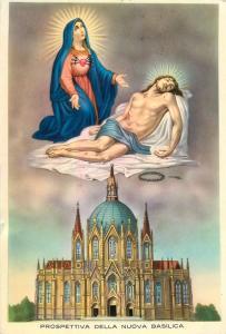 Prospettiva nuova Basilica Vergine Addolorata sulla sacra Rupe Castelpetroso