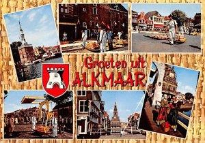Groeten uit Alkmaar Holland 1972